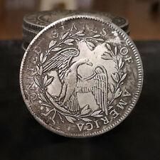 1794 retro skull commemorative coin old gift