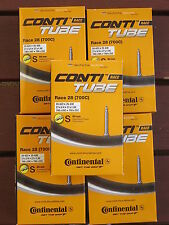 Continental Race 28 Road Bike Tubes 700C 19/25mm 60mm Valve 5 Pack *New*