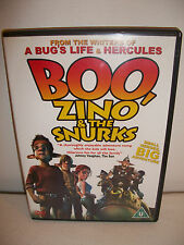 Boo, Zino And The Snurks (DVD, 2005)