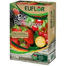 EUFLOR BIO Beerendünger Kernobst Steinobst NPK-Dünger 6+3+8,  2,5 kg