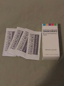 Rodan + and Fields Enhancements Microdermabrasion Paste 14 Packets 5ml each