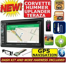 CORVETTE HUMMER H3 GPS NAVIGATION SYSTEM BLUETOOTH CD/DVD CAR RADIO STEREO PKG