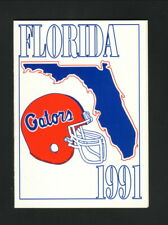 Florida Gators--1991 Football Pocket Schedule--Nationwide Insurance