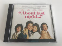 About Last Night Motion Picture Soundtrack CD 1986 Sheena Easton Bob Seger