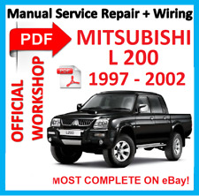 buy mitsubishi 1997 car service repair manuals ebay rh ebay co uk Nissan Frontier Volkswagen Amarok