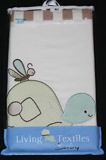Living Textiles Baboo Nursery Window Valance 53x15 new in pkg