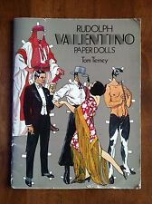 RUDOLPH VALENTINO PAPER DOLLS Tom Tierney The Sheik The Young Rajah L@@K WOW!!!