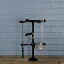 Jewelry Tree Stand Industrial Pipe LDR PipeDecor Tabletop/Countertop Rustic