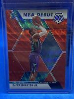 2019-20 Mosaic TMall Red Wave SP NBA Debut PJ Washington Hornets RC+2 Mosaic RC
