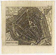 Europe Maps Antique Print-wageningen-netherlands-riegel-1691