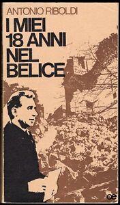 I miei 18 anni nel Belice (Trapani) - Riboldi / Dedica e autografo del vescovo