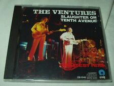 Japan THE VENTURES Slaughter on Tenth Avenue/Craig CD Daiichi Kikaku Surf RARE!!