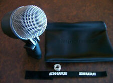 Shure Beta 52 Beta 52A Kick Drum Microphone Beta52A Full Warranty & Free Ship!