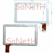 "Vetro Touch screen Digitizer 9,0"" Audiola TAB-0192 Tablet PC Bianco"