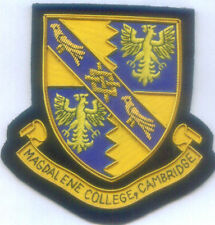 UK Magdalene College University School Class Reunion Crest Arms Seal EDU Patch C