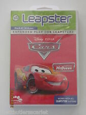 "Leap Frog Leapster Leapster2 ~ Pixar Cars ""MCQUEEN"" ~~ WORLDWILD SHIPPING ~~ NEW"