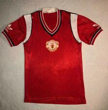 ORIGINAL 1984-1986 Manchester United Home Football Shirt Adidas Great condition