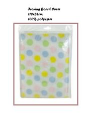 Ironing Board Cover 110 x 38cm 100% Polyester Easy Fit Steam Iron Easy Glide New