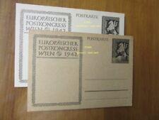 EBS Germany 1942 Postal Card European Postal Congress Vienna P294b