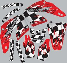 Graphic Kit for 2000-2001 Honda CR125 CR250 CR 125 Shrouds Fender shroud Decal