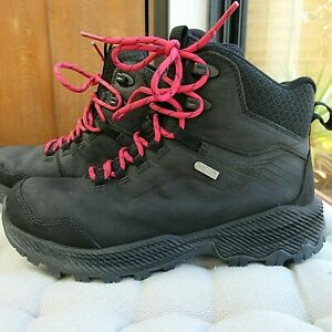Merrell Ladies Performance Waterproof Leather Walking Hiking Boots Size 4.5