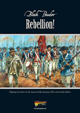 REBELLION! WARLORD GAMES BLACK POWDER SUPPLEMENT - AMERICAN WAR OF INDEPENDENCE