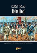 Ribellione! WARLORD GAMES Nero Polvere supplemento-guerra di indipendenza americana