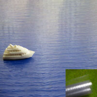 SM01 1pcs WATER SHEETS ripple realistic clear moulded 1*0.5m for model railway