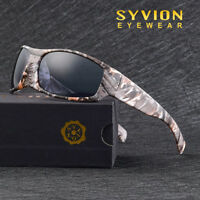 Mens Polarized Cycling Glasses Goggles Driving Fishing Sports Sunglasse Camo 3