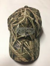 SPORTSMANS WAREHOUSE OUTFITTER CAMO  BASEBALL HAT ADULT ADJUST