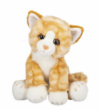 Ganz Heritage Orange Tabby Cat 12 inch - Stuffed Animal Plush Toy