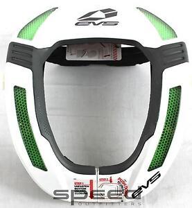 EVS RC4 Koroyd Race Collar, Adult - White
