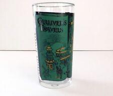 Vintage Libbey Storybook Glass 1953 Gulliver's Travels