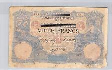 TUNISIE 1000 FRANCS BLEU ET ROSE (12.7.1892) H.51 N° 1257102
