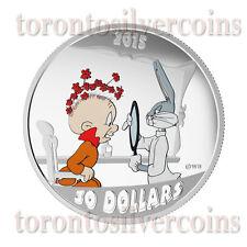 2015 2 oz. Fine Silver Coloured Coin – Looney Tunes™ Classic Scenes: The Rabbit