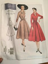 Vogue Vintage Sewing Pattern 2401 size 6 8 10 1952 Fitted Tie Waist Coat