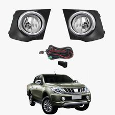 Fog Light Kit for Mitsubishi Triton MQ 2015-2017 with Wiring & Switch