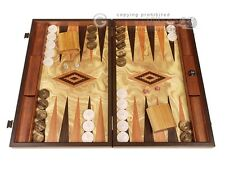Olive Root Backgammon Set - Large - Olive Root Field | Classic Board Game