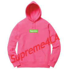 a2f12652cd5b Supreme 17F W Βox Logo Hooded Sweatshirt Magenta Size XL 1000% Authentic in  Hand