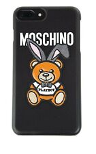 SS18 Moschino Couture Jeremy Scott PLAYBOY TEDDY BEAR BUNNY CASE 4 iPhone 6/6S/7