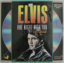 ELVIS - One Night With YOU  Presley  1968 Christmas TV Special  Laserdisc. NEW