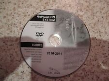 JAGUAR 2010-2011 SAT NAV DISC SATELLITE NAVIGATION DVD ROM FREE POST EUROPE L@@K