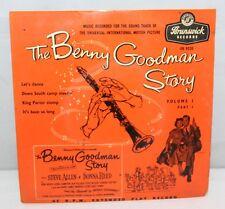 """45 7"""" Ep-la Historia De Benny Goodman-volumen 1, parte 1 - 1956-OE 9220"""