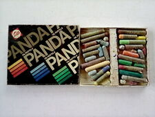 Vintage Talens Panda Oil Pastels - boxed set - well used