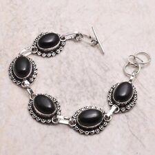 Jewelry 21 Gms Ab 67504 Black Onyx Ethnic Handmade Bracelet