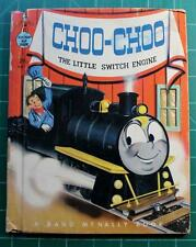 Choo Choo The Little Switch Engine Rand McNally Tip Top elf Book #8621