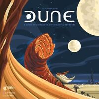 DUNE Board Game with 4 Miniature Figures Including the Great Worm NEW Ships Fast