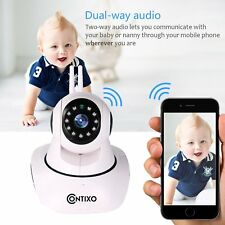 Contixo E3 Baby Monitor Home Security WiFi Camera Night Vision Motion Sensor