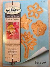 Spellbinder Designer Series Dies Tropical Paradise - Tropical Florals S4-723 NEW