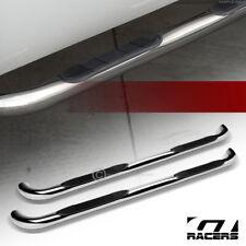 For 2009 2014 Dodge Ram 1500 Quad 3 Chrome Side Step Nerf Bars Running Board Hd